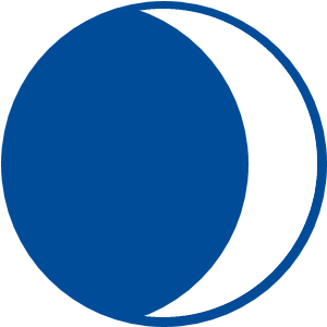 Растущая Луна (полумесяц)